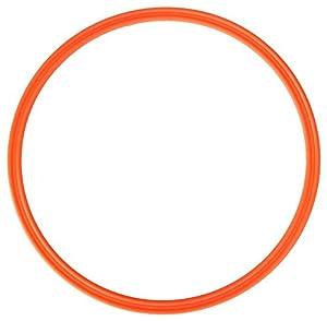 agility sport pour chiens - cerceau Ø ca. 60 cm, orange - 1x R60o
