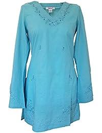 La tunique en turquoise (731)