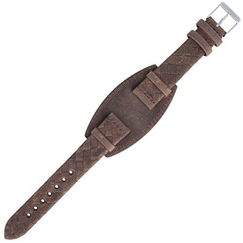 Liebeskind Uhrenarmband 17mm Leder Braun - Uhrband B_LT-0047-LQ