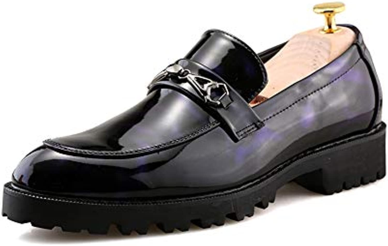 Xiazhi-scarpe, Scarpe Basse da Uomo Stile Inglese per Il Tempo Tempo Tempo liberoBusiness Oxford Casual Low-Top in Pelle Verniciata...   Vari disegni attuali    Uomo/Donna Scarpa  07775d