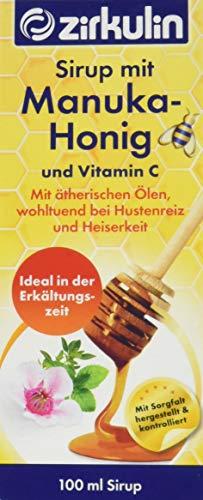 Zirkulin Naturheilmittel Sirup mit Manuka-Honig und Vitamin C, 100 ml