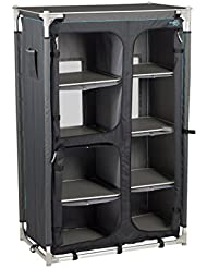 Bo-Camp Mobilier de camping BC Armoire-multi usage Deluxe haute Anthracite