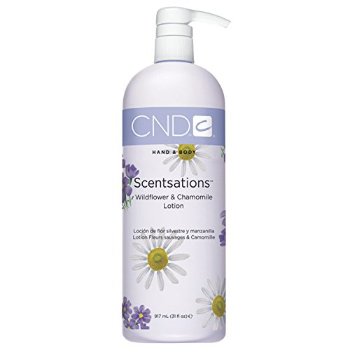 CND SCENTSATIONS HAND & BODY LOTION CORPS FLEURS SAUVAGE & CAMOMILLE 917ML
