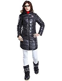 Nebulus Wintermantel Chamonix - Soft shell para mujer, color negro, talla M