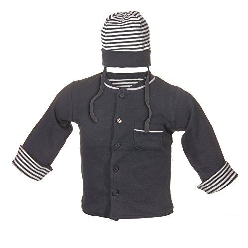Jacky Jungen Jacke mit Mütze marine, Größe 68