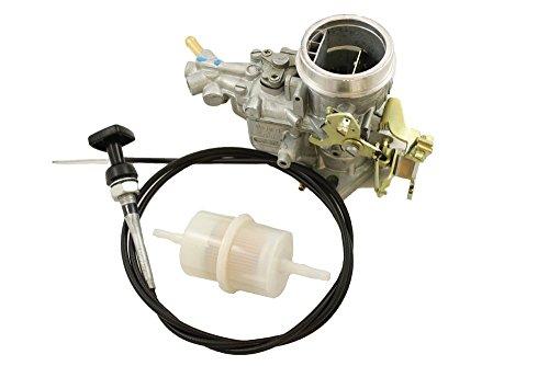 Weber neuen Bedürfnisse Adapter für Solex Vergaser Montage Serie IIA 88Series IIA 109Serie III 88Serie III 109alle 4Zyl Benzin Modelle mit Single Choke Direkter Ersatz für Zenith BR 2238W - Zenith Serie