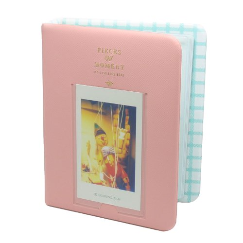 CAIUL Photo Album For Fujifilm instax mini 90 8 25 50s 7s Film, Pink Fuji Photo
