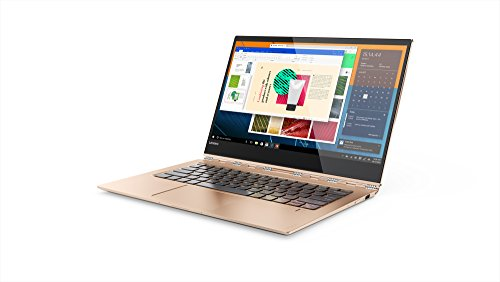 "Lenovo YOGA 920-13IKB - Portátil táctil convertible 13.9"" Full HD (Procesador Intel Core i7-8550U, 8GB de RAM, 512GB SSD, Windows 10 Home) Cobre. Teclado QWERTY español"