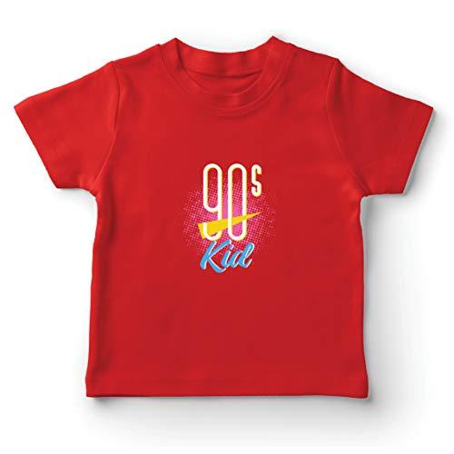 lepni.me Kinder Jungen/Mädchen T-Shirt 90er Jahre Kinder-Retro-Musik,