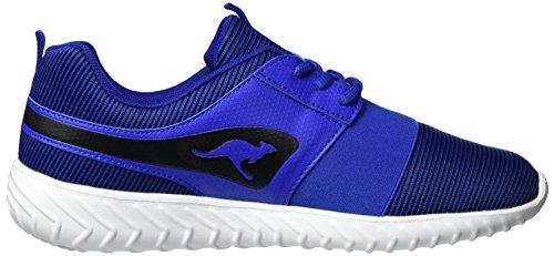 KangaROOS Unisex-Erwachsene Ele Low-Top Blau (Electric Blue/Black)