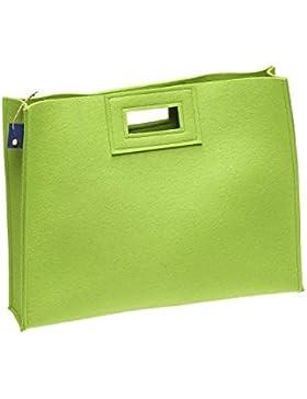 Einkaufstasche eckig aus Filz (100% Wolle) Tasche von i.Punkt