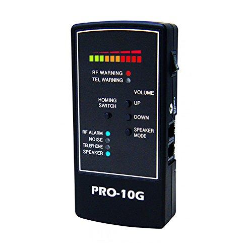 Spy Hawk Pro 10G Ist Der 1 Gps Tracker Finder Und Law-Grade Counter Surveillance Bug Sweep -Professionelle Handheld-Erkennung Aller Aktiven Gps-Tracker, Handys - Deutsch Benutzerhandbuch Nur - Wireless Video Jammer