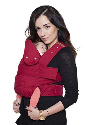 marsupi Baby- und Kindertrage, Version 2.0 (ruby red/red, XL)