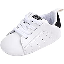 Gusspower Zapatos de Bebé Zapatillas Deportivas para bebés recién Nacidos Primeros Pasos Calzado de Cuero Antideslizante