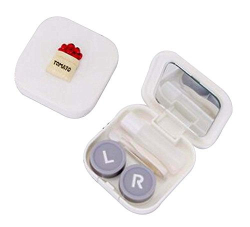 [J] Schöne stilvolle Kontaktlinsen Case Storage Holder