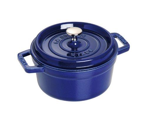 Staub 40510-265-0 Casseruola Tonda, 22 cm, Blu Scuro