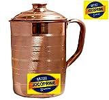 JOCOPRIME Copper Jug Pitcher |1700 ml| Storage & Serving Water (CO S014)