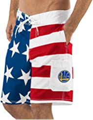 "Golden State Warriors NBA G-III ""Americana"" Men's Boardshorts Swim Trunks"