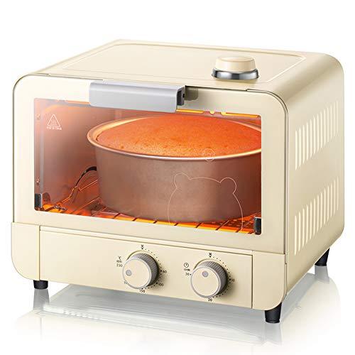 Toaster oven Mini Horno EléCtrico A Vapor AutomáTico De 15L, CalefaccióN De...