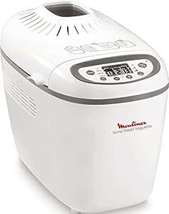 Moulinex OW610110 Machine à Pain Baguettes Plastique Blanc/Gris 28,5 x 45 x 33,5 cm