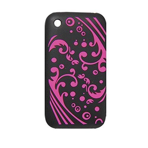 Schwarz Fuchsia Sea Wave Weichen Silikon-Hülle für Das iPhone 3G Iphone 3g Wave