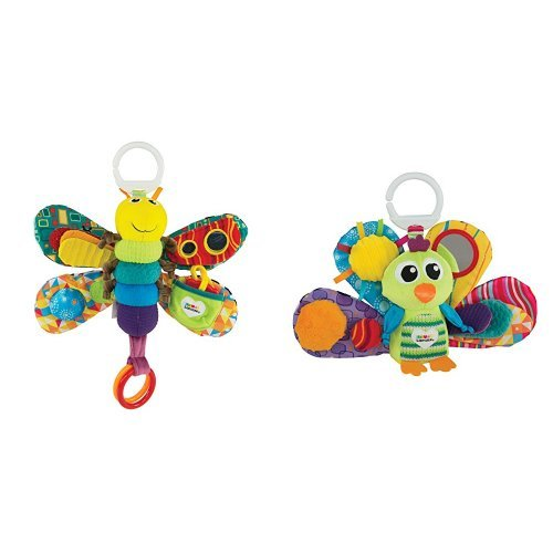Lamaze Freddie The Firefly with Jacques the Peacock