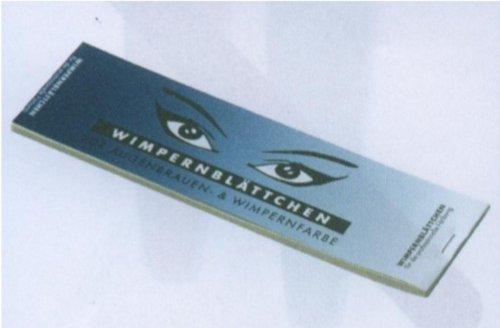 Hairforce Augenbrauen- & Wimpernblättchen, 96 Stück