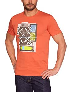 Oxbow Spirit T-Shirt manches courtes homme Burnt Orange FR : 38 (Taille Fabricant : M)