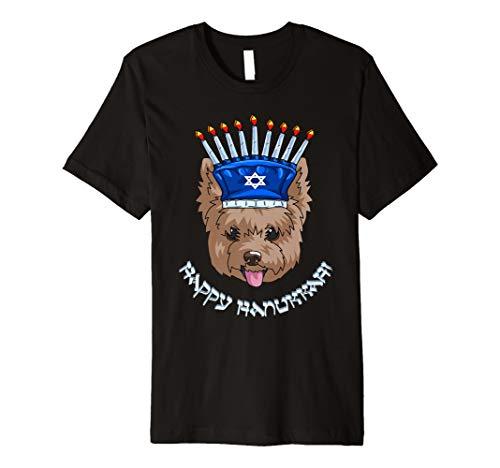 Yorkshire Menorah Hut T-Shirt Chanukah Chanukah Shirt