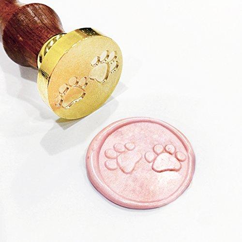 s Cute Cat Paw Wax Siegel Stempel Hochzeit Einladung Buchstabe Geschenk (Halloween-hochzeit Dusche Einladungen)