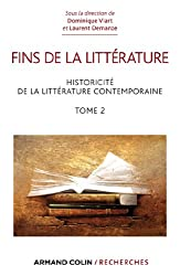 Fins de la littérature - Historicité de la littérature contemporaine