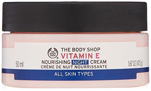 THE BODY SHOP VITAMIN E CREMA HIDRATANTE DE NOCHE 50 ML