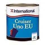 International Cruiser UNO EU Antivegetativa per barche a vela e a motore, colore: Blu scuro, size: 750 ml