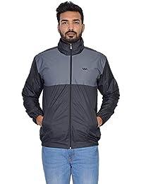Walk Alone Waterproof/Resistance Nylon Full Sleeve Jacket with Hooded for Men's
