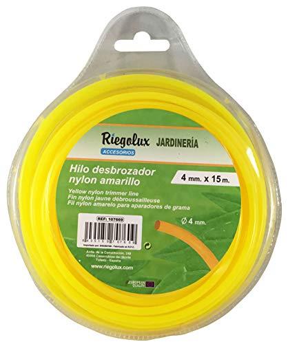 Riegolux 107669 Hilo Desbrozadora Nylon Redonda