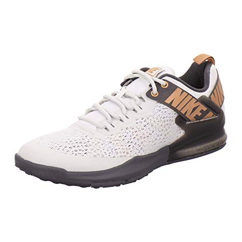 Nike Herren Zoom Domination TR 2 Cross-Trainer, Grau (Platinum Tint/Metallic Copper 007), 43 EU - Air Zoom Basketball
