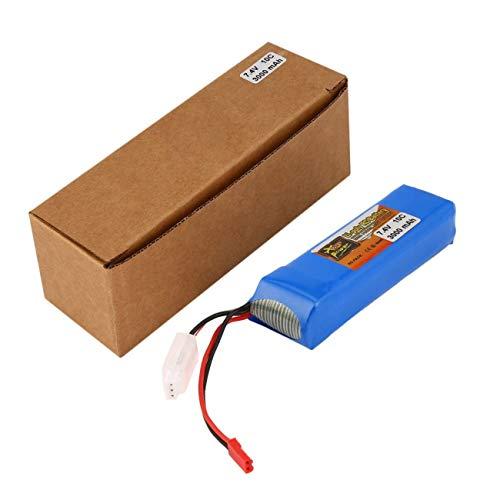 Elviray X9D Batería Recargable de Control Remoto Li-Poly...