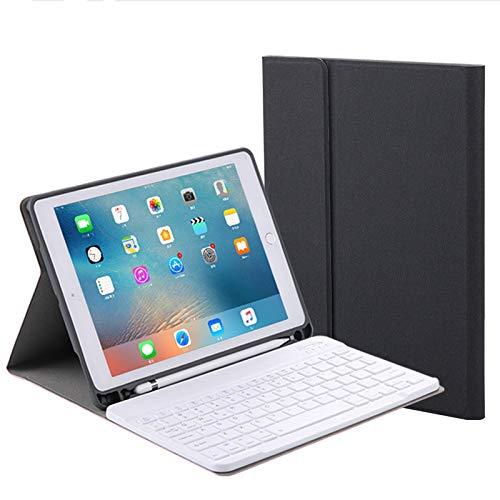 """LIGHTOP Ultraleichte Bluetooth Tastatur Schutzhülle mit Smart Power Schalter Winkelverstellbar Deutsches Tastatur-Layout für 10,5"""" iPad Pro"""