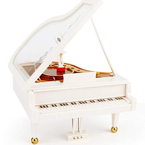 Sisaki Premier Spieluhr Klavier Tänzerinnen Dreh Music Box Vintage mechanische Klassische Reizende Ballerina-Mädchen - Vintage Bilder Ballerina