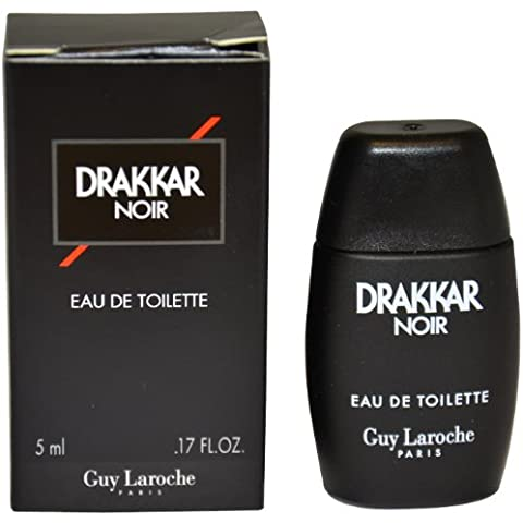 Drakkar Noir Men Eau-de-toilette Splash (Mini) by Guy Laroche, 0.17 Ounce by Guy Laroche