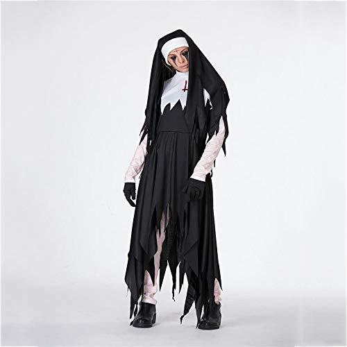 Damen Dämon Halloween Kostüm Zombie-Vampir Hexe Lady Dress Nacht Club DS parteikostüm Bühne Leistung ()