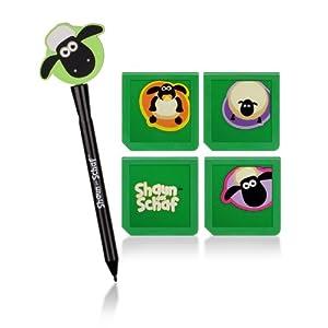 Speedlink Zubehör für Nintendo Handheld (Touchscreenpen/Spielehülle) Shoaun das Schaf weiß