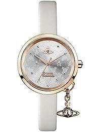 Vivienne Westwood VV139WGYCM VV139WGYCM - Reloj de Pulsera para Mujer, Correa de Piel, Color