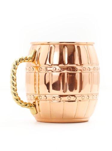 Old Dutch International 473 ml, rundes Fass 16-Ounce/Barrel kupfer 16 Oz Barrel Mug