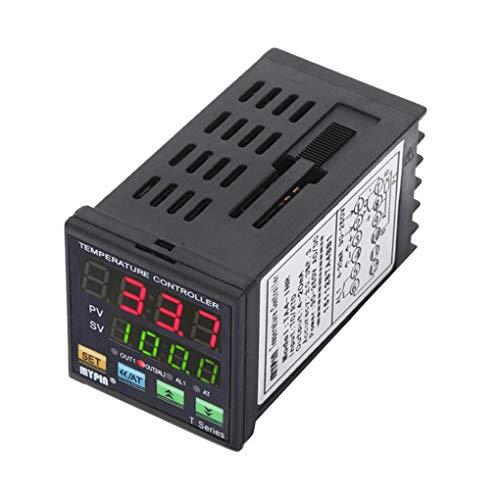 Preisvergleich Produktbild Pegcdu MyPin Ta4-Inr 90-260V Ac / Dc Digitale PID-Temperaturregler 4-20 mA Analogausgang Alarm Thermostat