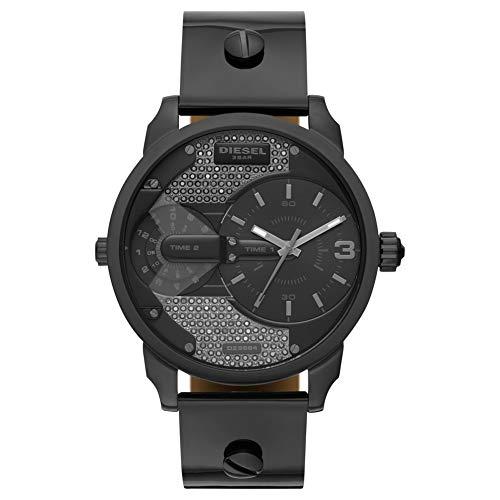 Diesel Damen-Uhren Analog Quarz One Size Leder 87594904 -