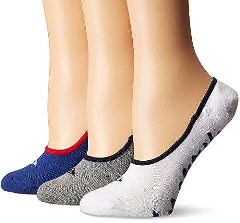 SPERRY Women's Cushioned Canoe Liner Sock, Blue, 9-11