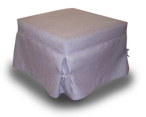 Ponti Divani - ALBA - Pouf letto singolo con materasso h 10cm con ...