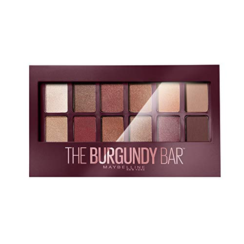 Maybelline New-York - Palette Fards à Paupières - The Burgundy Bar - 12 couleurs