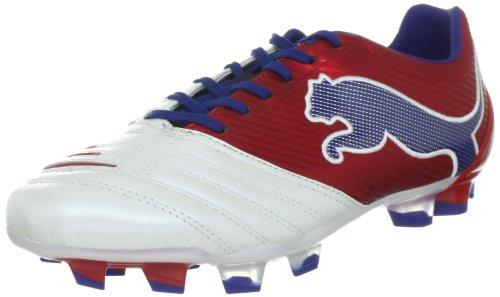 Puma Powercat 2,12 Fg 102473 Homens Calçados Esportivos - Branco De Futebol (branco-vermelho Da Fita-limoges 04)